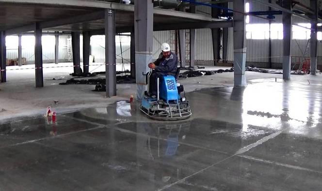 шлифовка бетона вертолетом технология видео